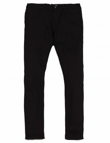 Rebel Pant - Black Rinsed (Margate Denim)