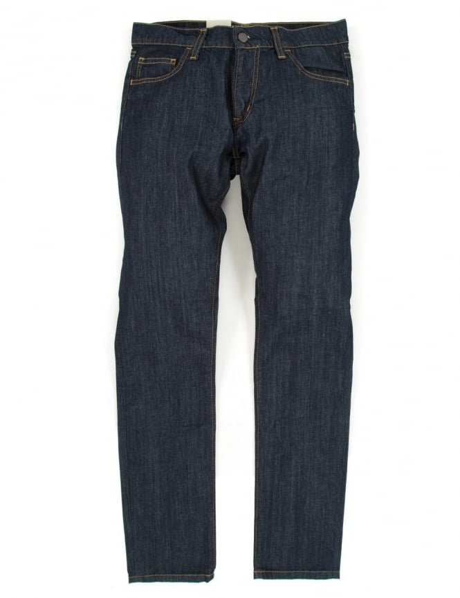 Carhartt Rebel Pant - Blue Rinsed (Colfax Denim)
