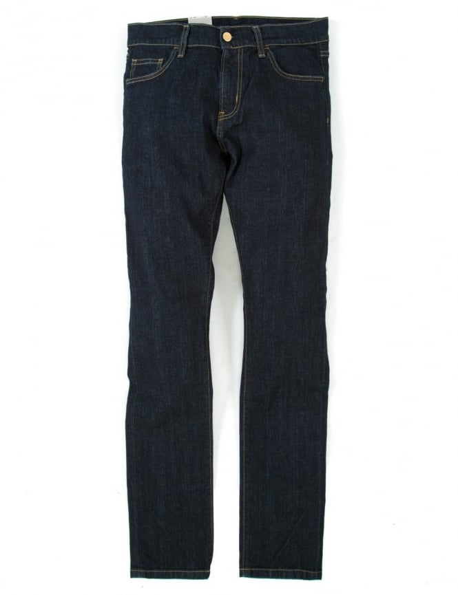 Carhartt Rebel Pant - Blue Rinsed (Colusa Denim)