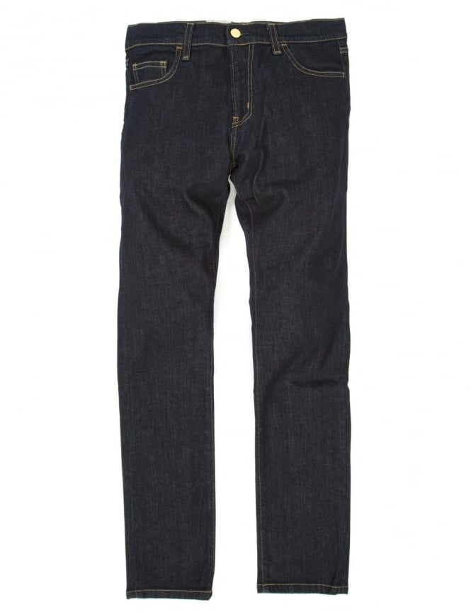 Carhartt Rebel Pant - Blue Rinsed (Spicer Stretch Denim)