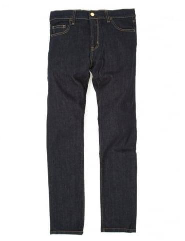 Carhartt Rebel Pant - Blue Rinsed (Spicer Stretch Denim)