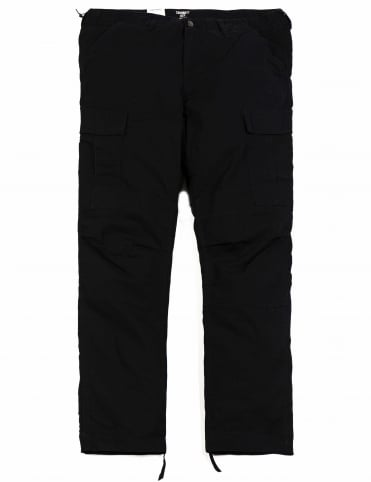 Regular Cargo Pant - Black