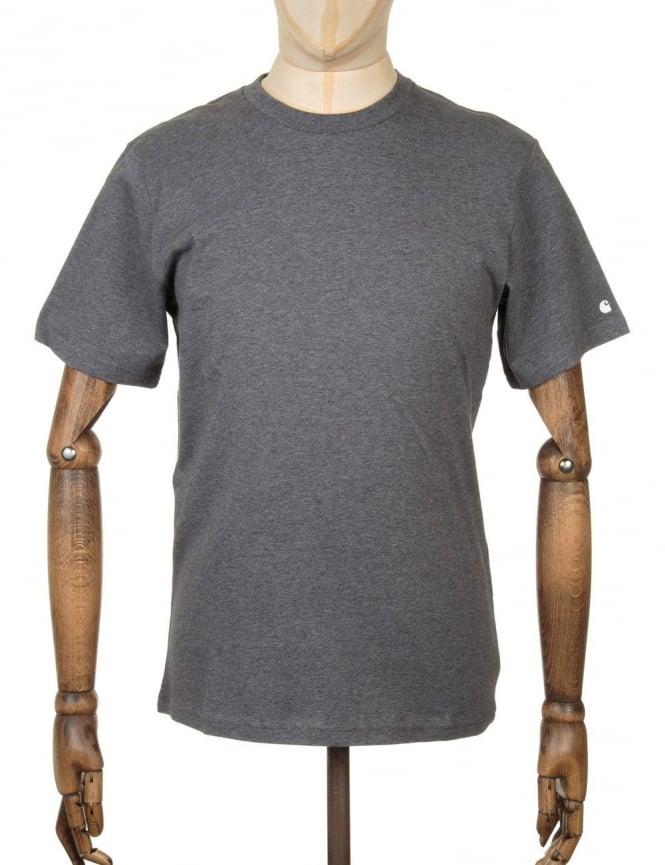 Carhartt S/S Base T-shirt - Dark Grey Heather