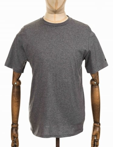S/S Base T-shirt - Dark Grey Heather
