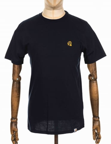 S/S Duck C T-shirt - Navy