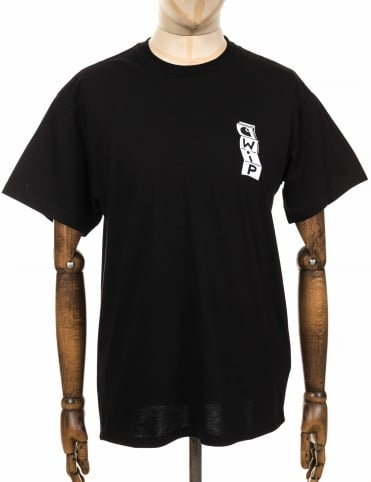 S/S Gatefold Tee - Black