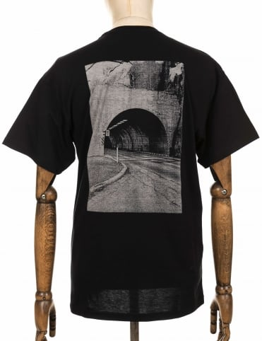 S/S Headlight Tee - Black
