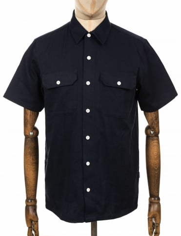 S/S Master Shirt - Dark Navy