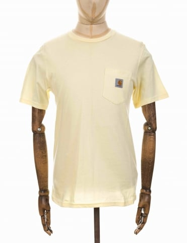 S/S Pocket T-shirt - Lion Yellow