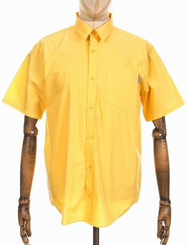 S/S Wesley Shirt - Ibiza Yellow