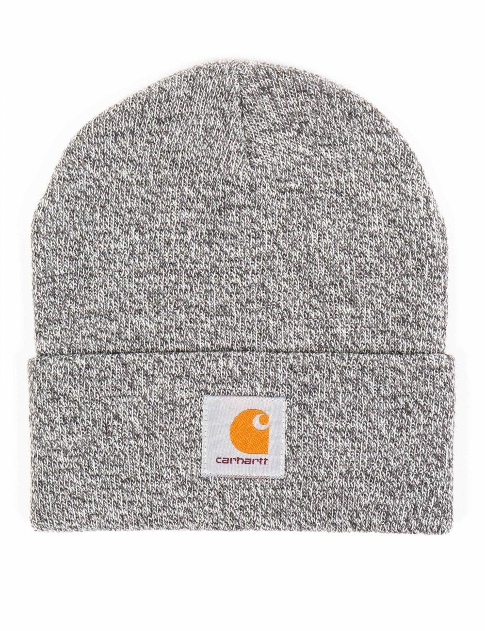 b08a7236985 Carhartt WIP Scott Watch Hat - Dark Grey Heather Wax - Accessories ...