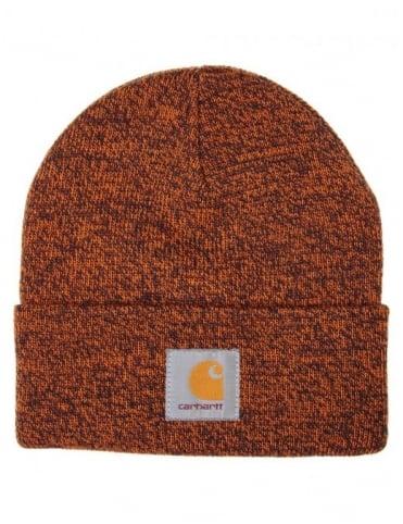 Scott Watch Hat - Dark Navy/Carhartt Orange