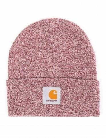 Carhartt WIP Scott Watch Hat - Mulberry Wax 03497b175e68
