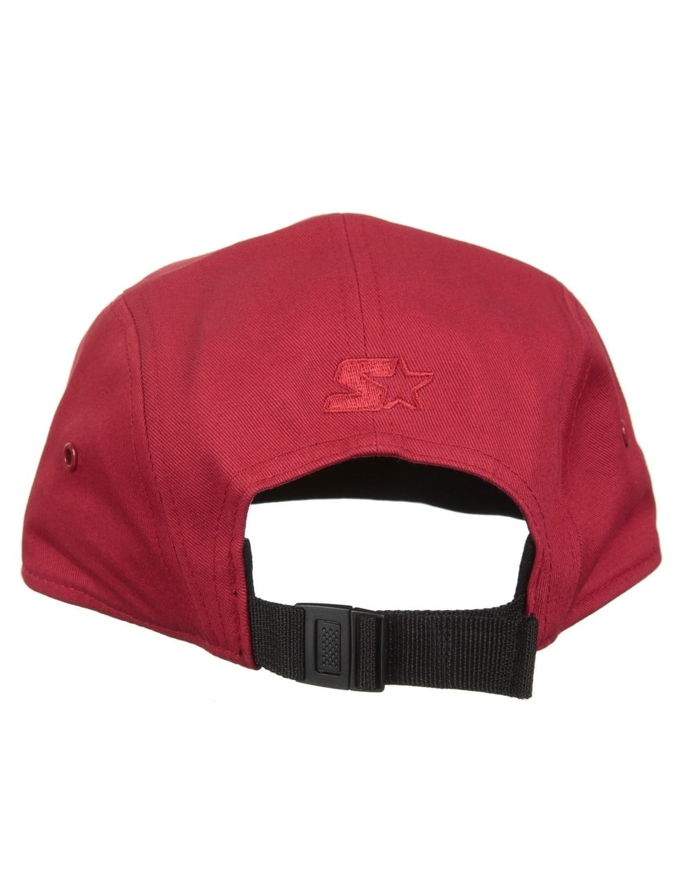 8ef5e6db9ac0d Carhartt WIP Shore Starter Cap - Fire Red/Black - Accessories from ...