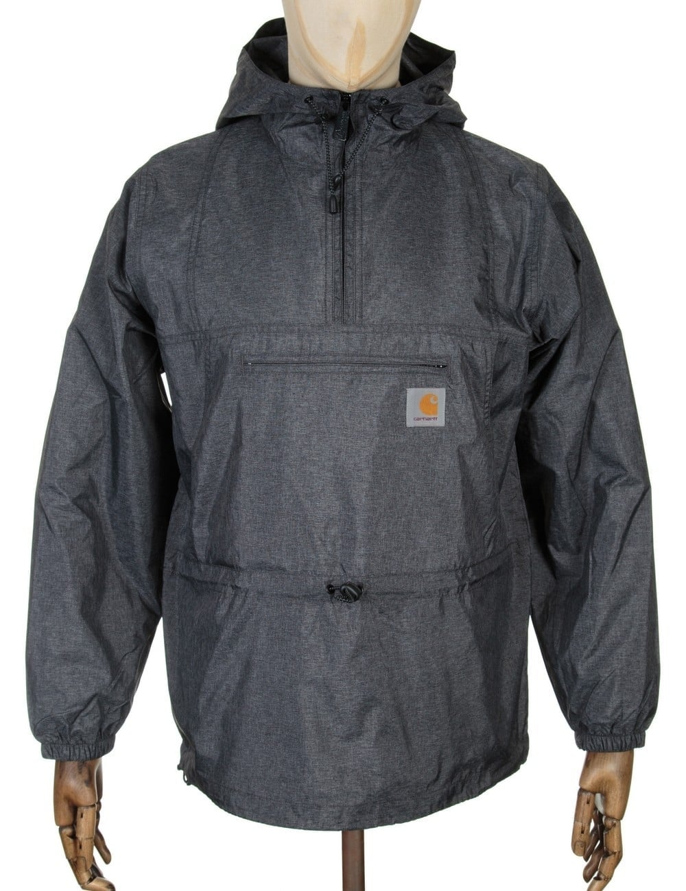 carhartt spinner pullover jacket black clothing from fat buddha store uk. Black Bedroom Furniture Sets. Home Design Ideas