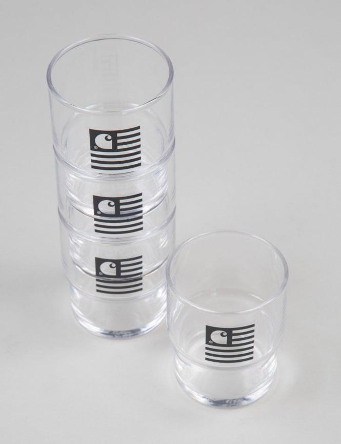 Carhartt Stackable Glasses Box Set (4 Pack)