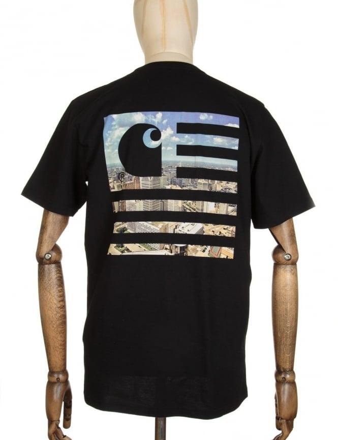 Carhartt State Detroit City T-shirt - Black