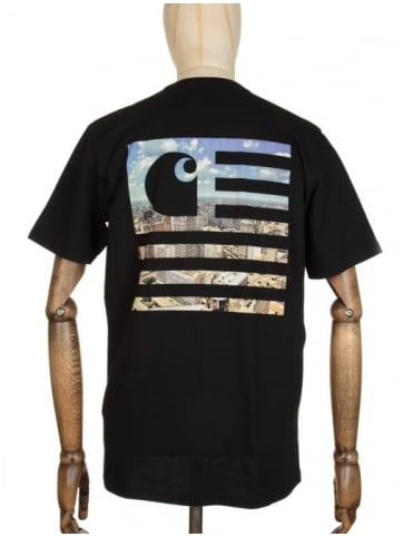 Carhartt State Detroit City T-shirt - Black