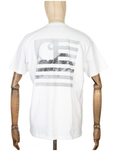 Carhartt State Mountain Top T-shirt - White