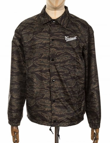 Strike Coach Jacket - Tiger Camo