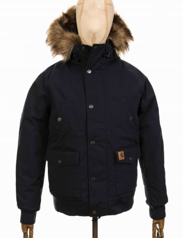 Trapper Jacket - Dark Navy