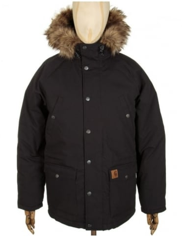 Trapper Parka - Black/Black