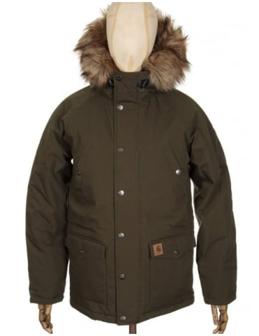 Trapper Parka - Cypress/Black