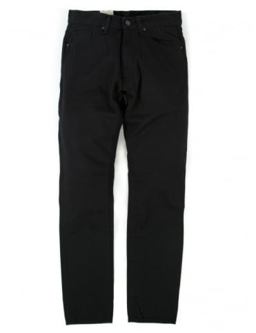 Carhartt Vicious Pant - Black Rinsed (Chicago Denim)