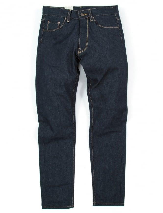 Carhartt Vicious Pant - Blue Rigid (Madera Denim)
