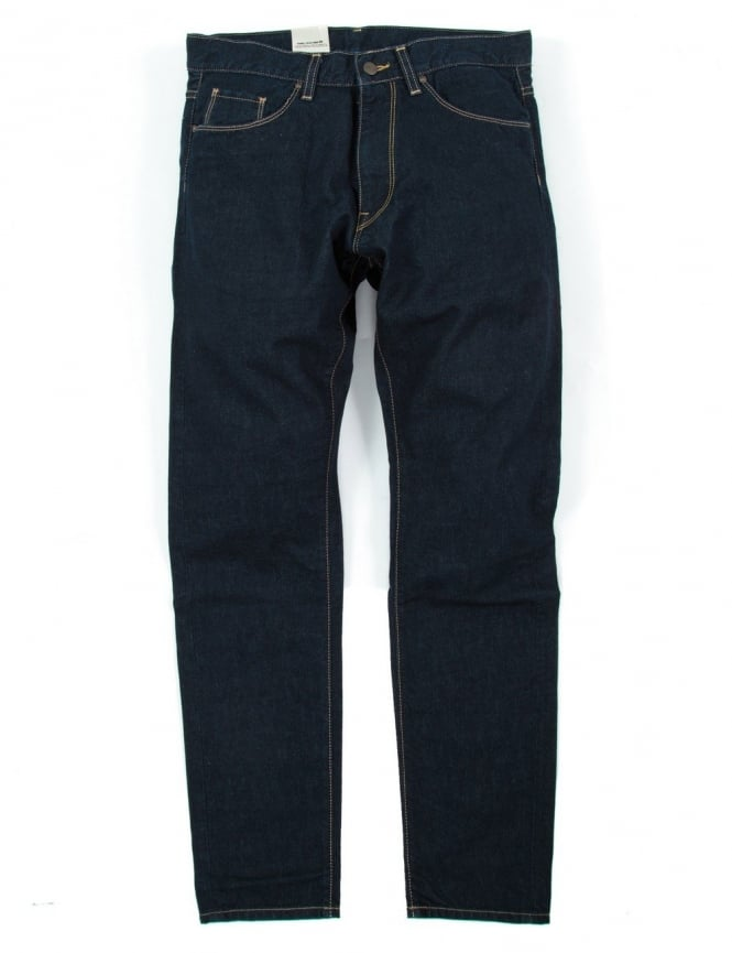 carhartt vicious pant blue rinsed madera denim. Black Bedroom Furniture Sets. Home Design Ideas