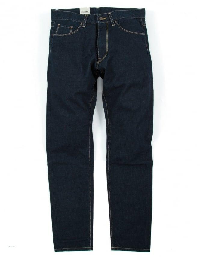 Carhartt Vicious Pant - Blue Rinsed (Madera Denim)