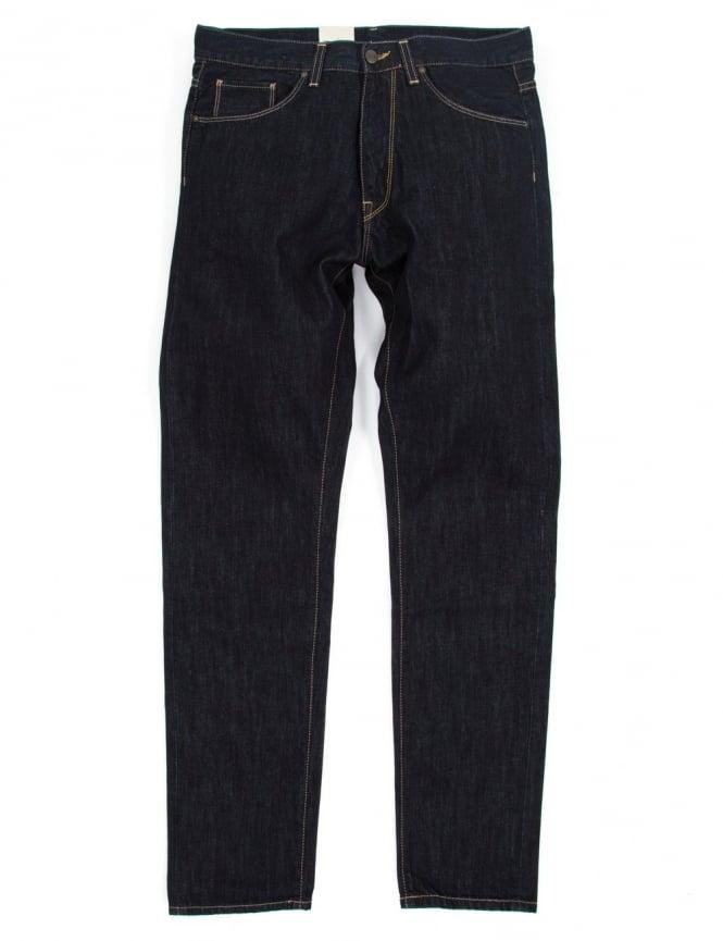 Carhartt Vicious Pant - Blue Rinsed (Merced Denim)