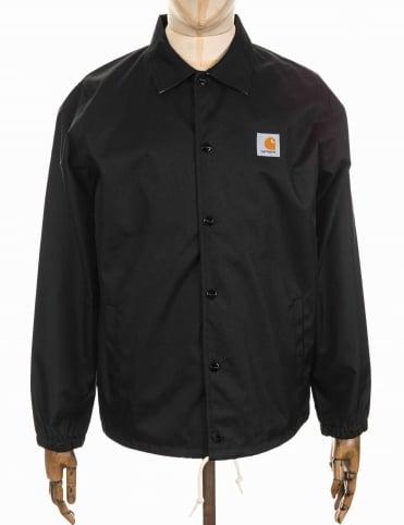 Carhartt Watch Coat Jacket - Black