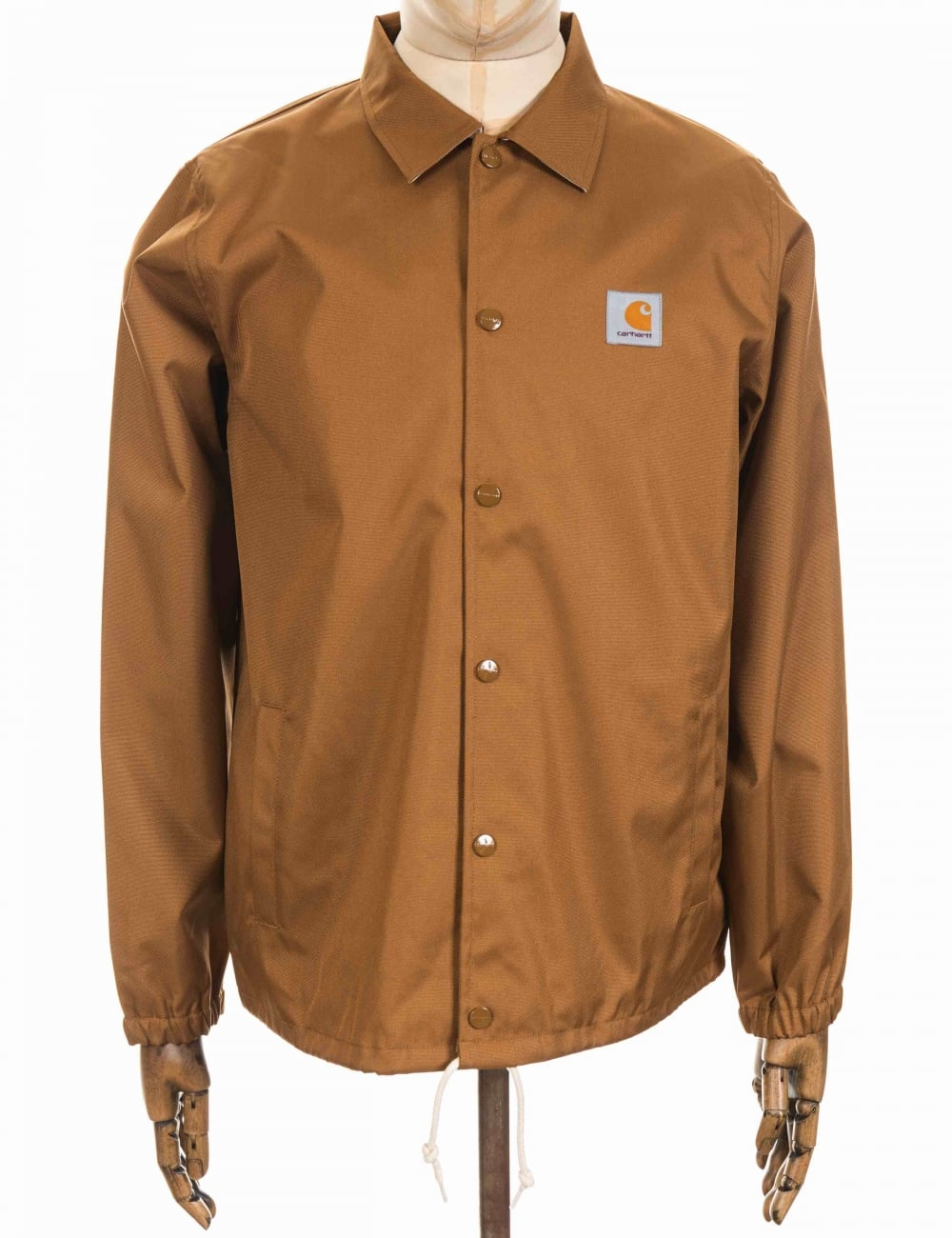 26840309de4 Carhartt WIP Watch Coat Jacket - Hamilton Brown - Clothing from Fat ...