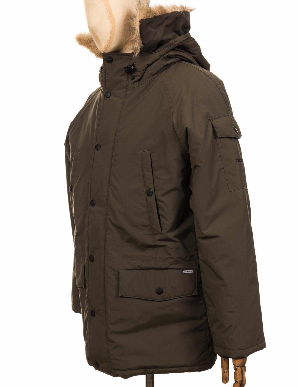 top design factory price san francisco Anchorage Parka Jacket - Cypress