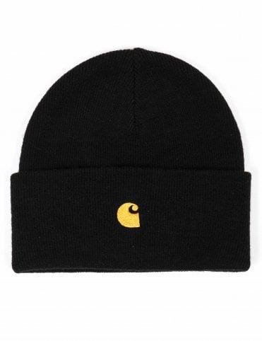 2746b0172f00f Carhartt WIP Chase Beanie Hat - Black