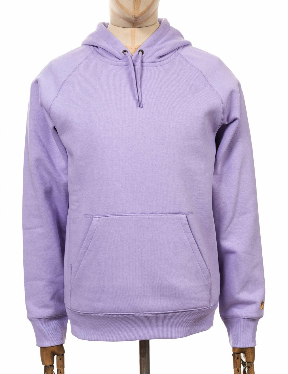 f550c00352a Carhartt WIP Hooded Chase Sweatshirt - Soft Lavender - Clothing from ...