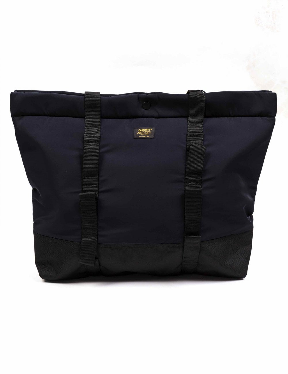 c3935eca4212 Carhartt WIP Military Shopper Tote Bag - Dark Navy Black ...