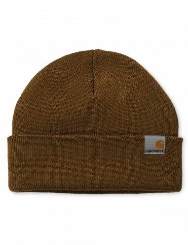 7d824b78062 Carhartt WIP Stratus Beanie Hat - Hamilton Brown