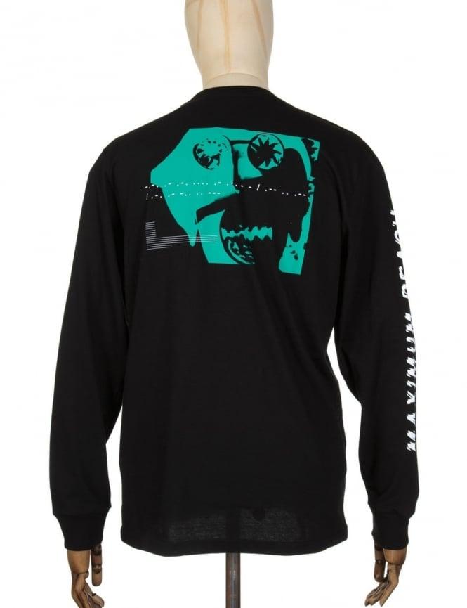 Carhartt x NTS L/S Maximum Reach T-shirt - Black