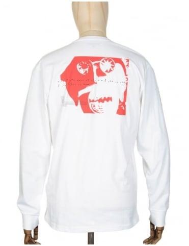 Carhartt x NTS L/S Maximum Reach T-shirt - White