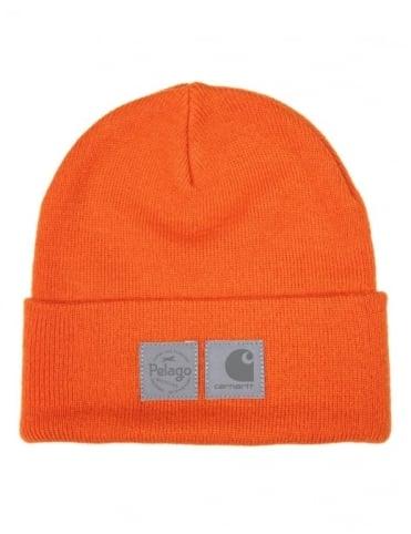 x Pelago Beanie - Carhartt Orange