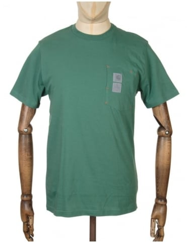Carhartt x Pelago T-shirt - Stanley Green