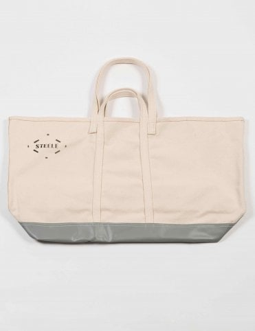 c92d019a71b2 Carhartt WIP X Steele Canvas Wide Tote Bag - Off White