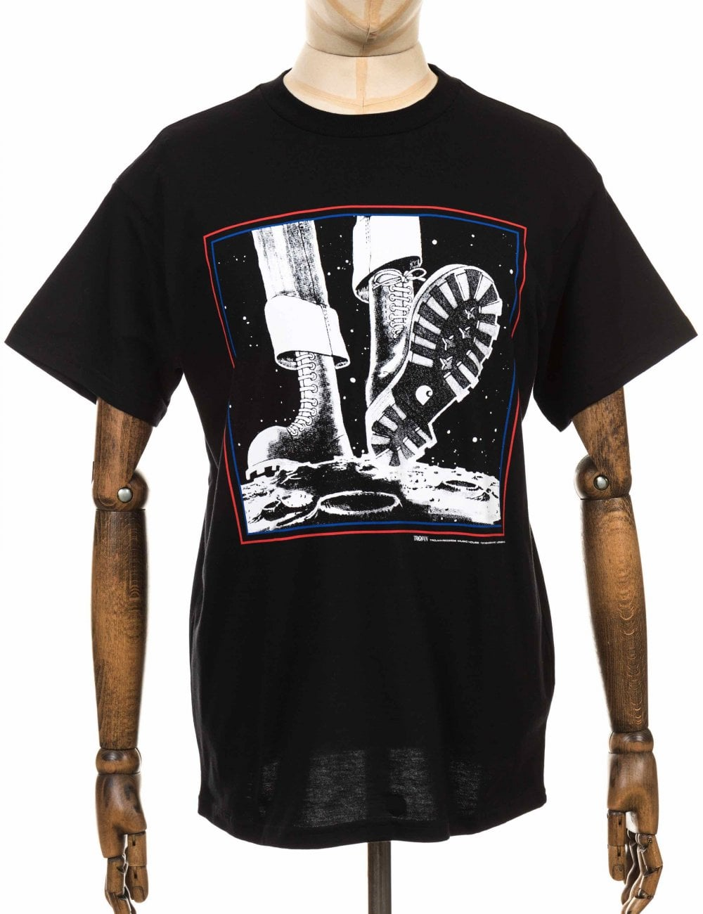 63396efe Carhartt WIP x Trojan Records Moonstomp Tee - Black - Clothing from ...