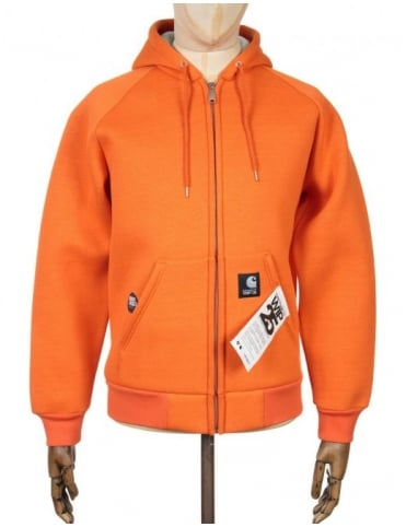 XXV Car-Lux Hooded Jacket - Carhartt Orange