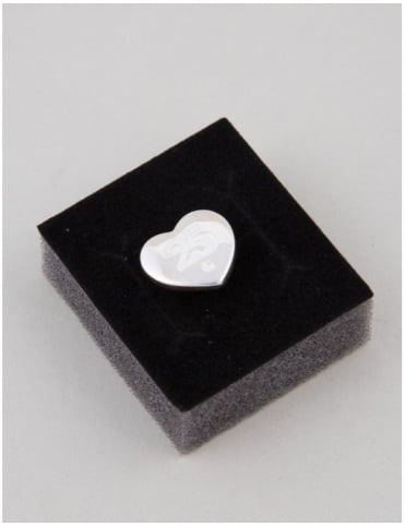 Carhartt XXV Heart Pin - Solid Sterling Silver 925