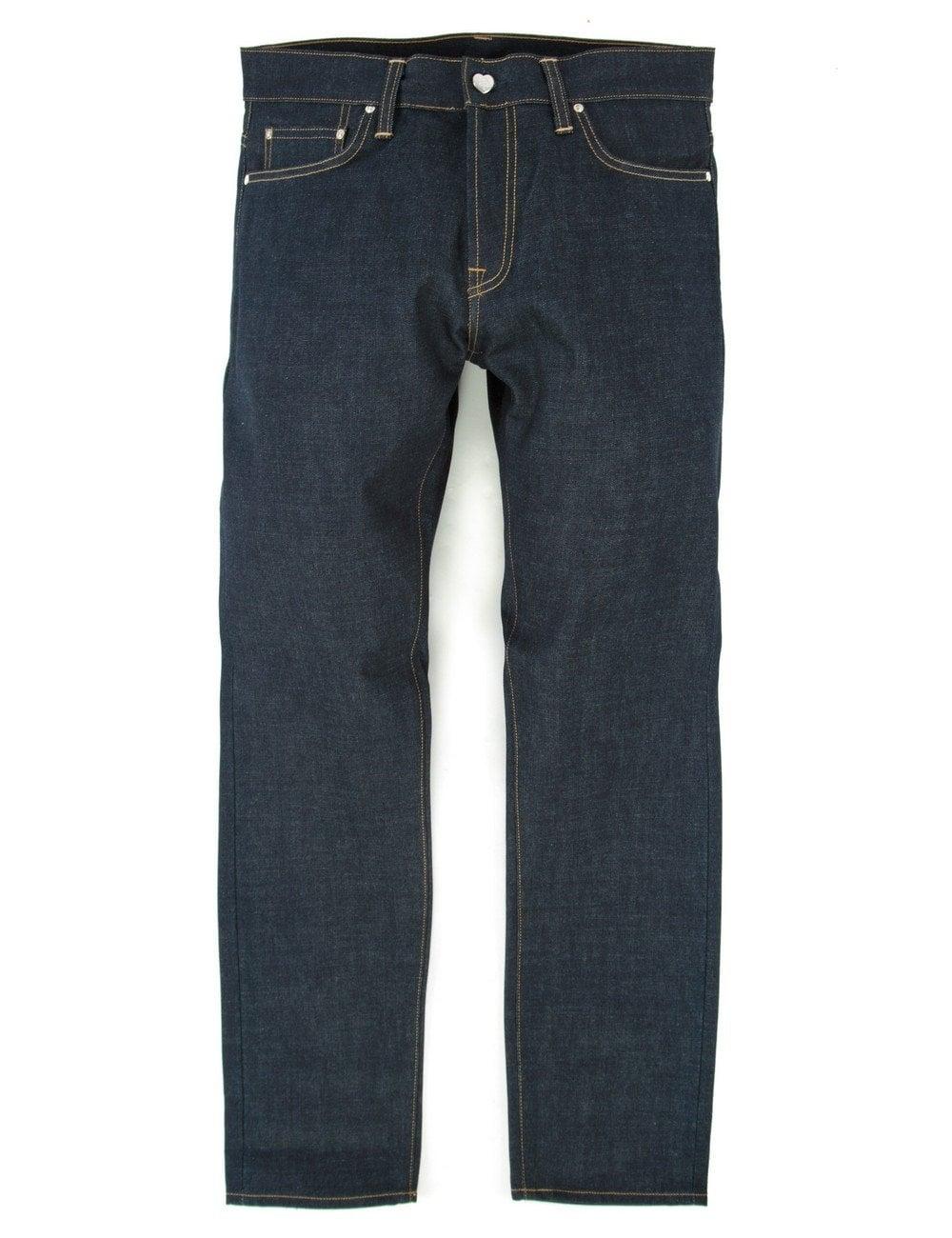 e652926e65 Carhartt WIP XXV Klondike Pant - Blue Rigid Denim - Clothing from ...