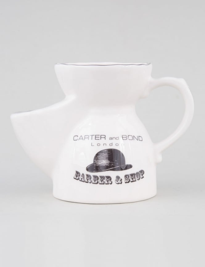 Carter And Bond Shaving Scuttle With Soap