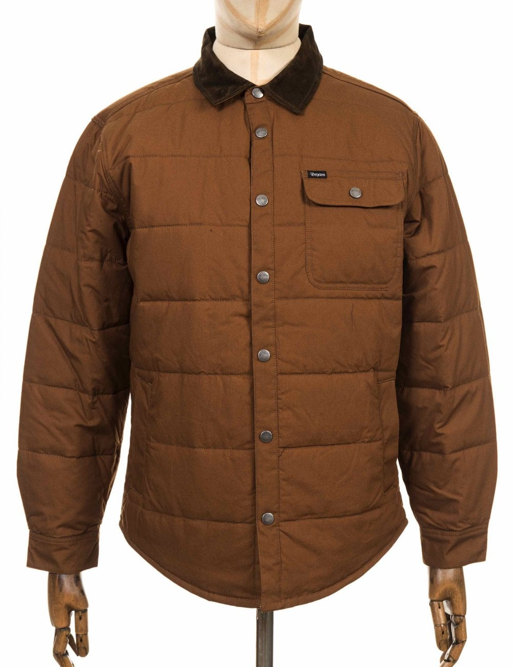 Brixton Cass Jacket - Sierra - Clothing from Fat Buddha Store UK ec2c4d011c6